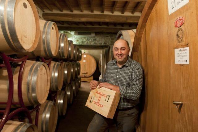 Andrea Cortonesi- owner/winemaker