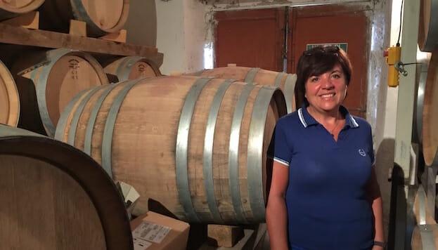 Gabriela Ferrara in the cantina