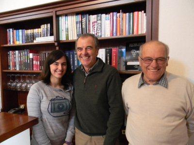 Martina, Sergio and Franco Minuto