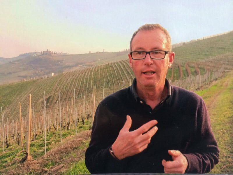Marco Marengo in Viole Vineyard