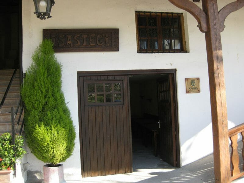 The entrance to the ciderhouse